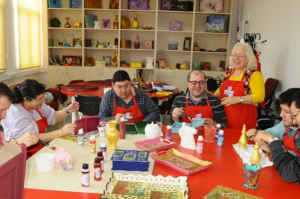 Workshops and courses for disabled people