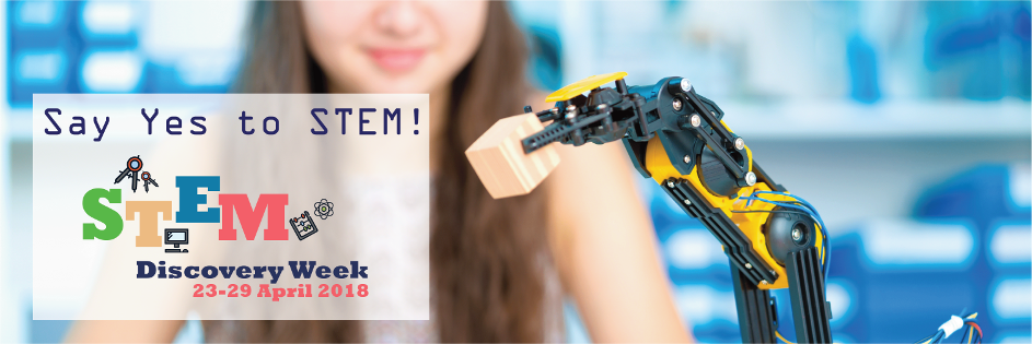 Say Yes to STEM: STEM Discovery Week