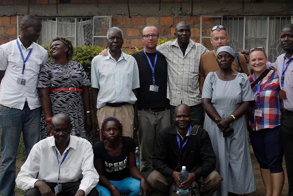 Job shadowing in Kenya