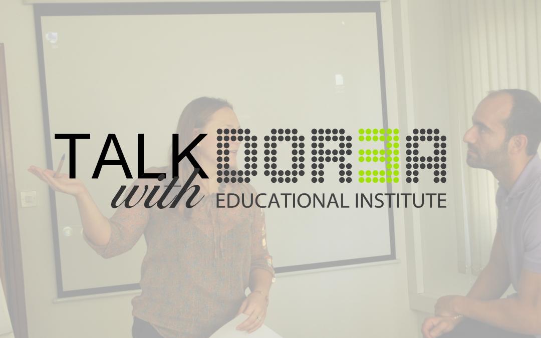 Talk with DOREA: Daphne Kleopa