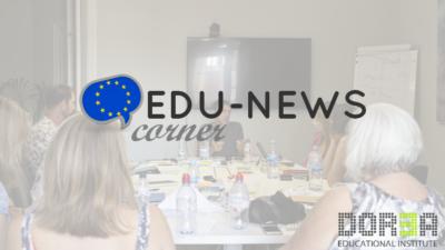 EDU-NEWS corner: 03 – 07 September, 2018