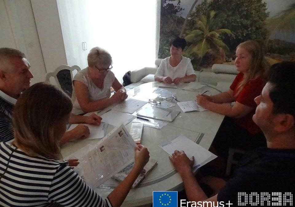 Kick-off Erasmus+ KA2 project meeting in France