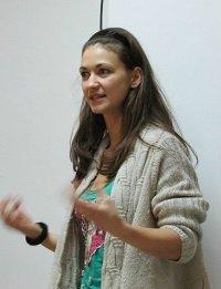 Trainer Eleni Baltatzi