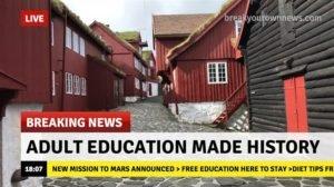 adult education visible webinar