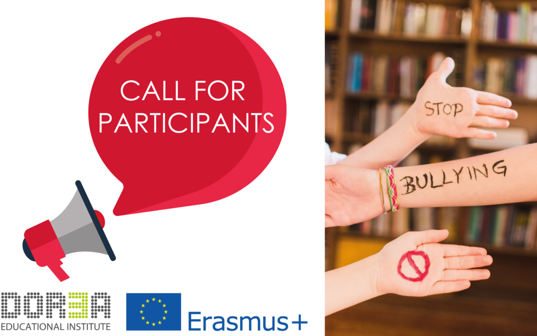 Participate in Erasmus+ Anti-bullying training course in ...