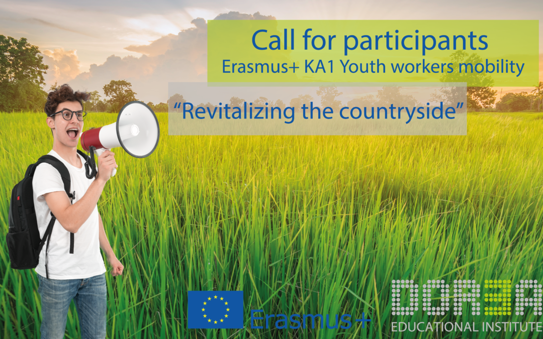 """Erasmus+ Youth Workers mobility """"Revitalizing the countryside"""""""