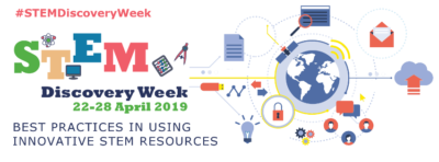 We Support STEM Discovery Week 22-28 April 2019