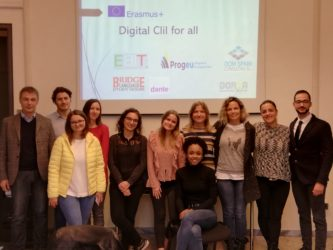 "Erasmus+ KA2 ""Digital CLIL for all"" kick off meeting in Rome"