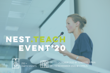 Erasmus+ KA1 staff mobility: NEST.TEACH Conference for Educators