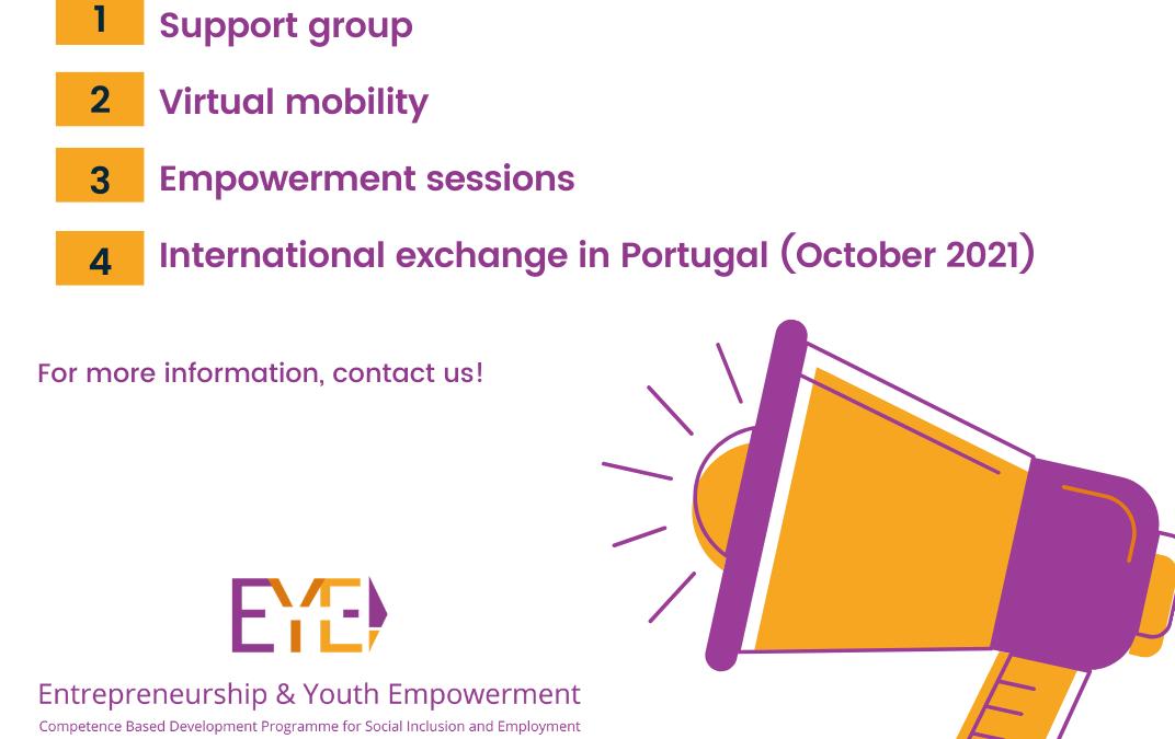 Entrepreneurship & Youth Unemployment: Virtual mobility & Empowerment sessions